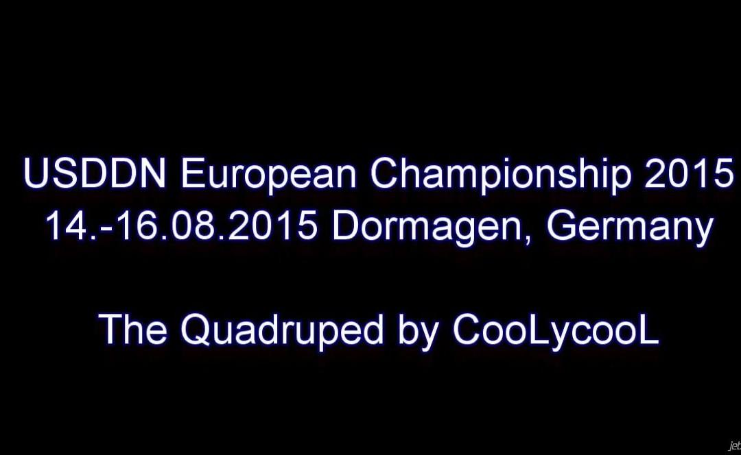 USDDN European Championship 2015